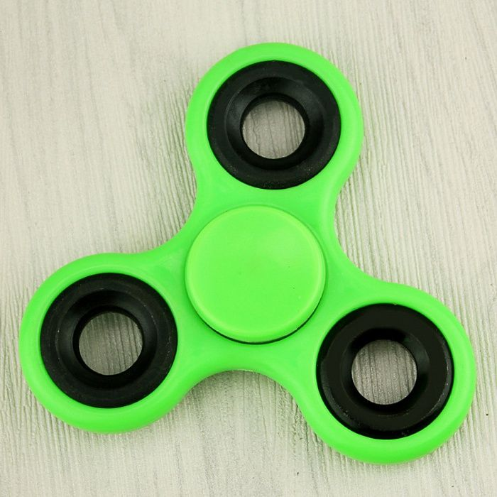 Спиннер Fidget Spinner Iron Black (зеленый)