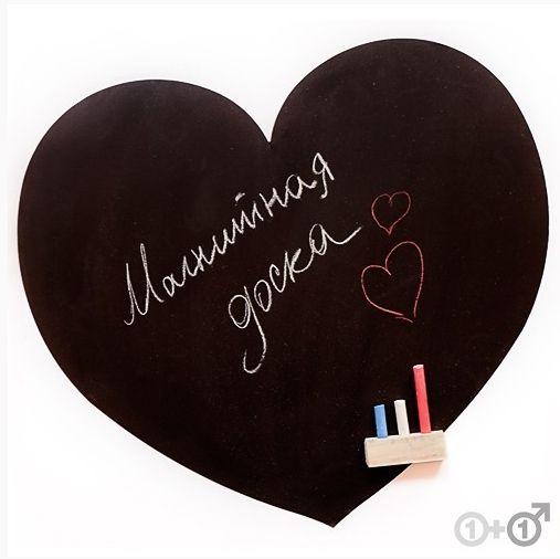 "Доска-Сердце ""MELOMPO"" магнитная"